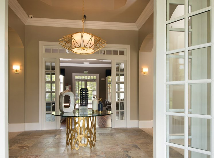 Beautiful Entry with Refined Finishes and Decor