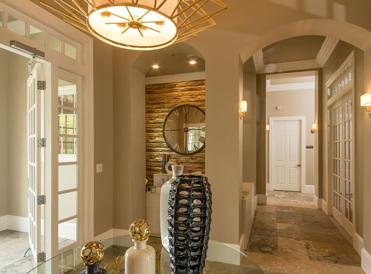 Spacious Common Areas with Multiple French Doors