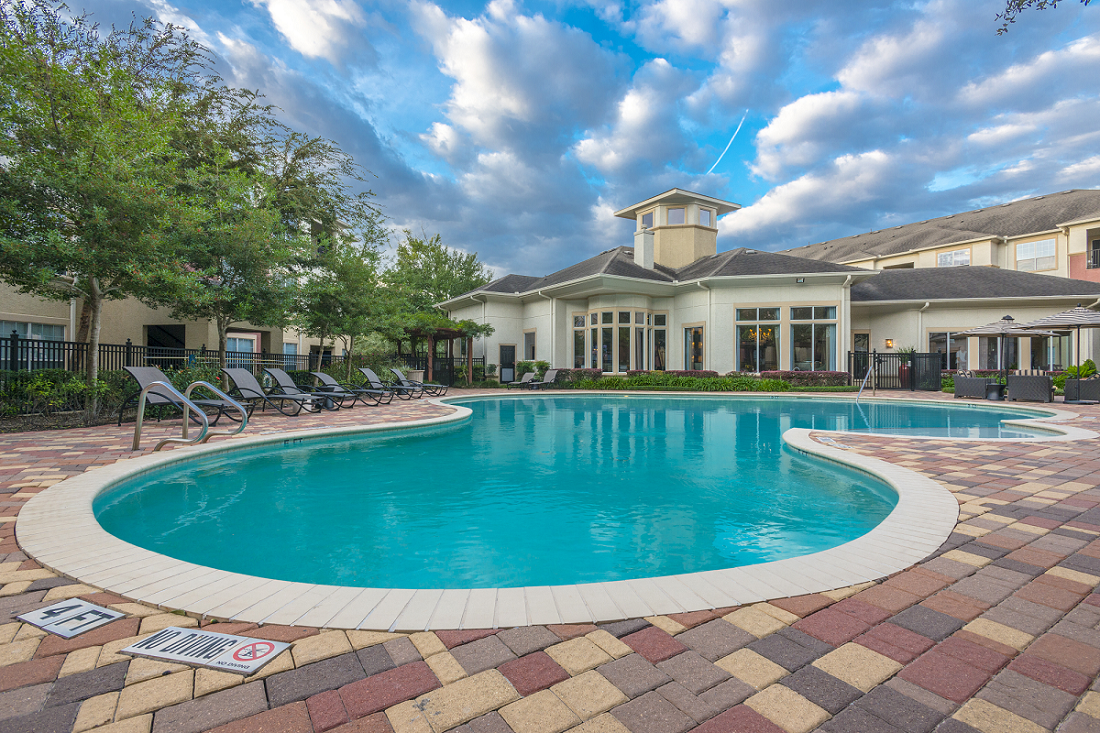 Pristine Pool at Marquette at Piney Point, Houston, TX, 77063