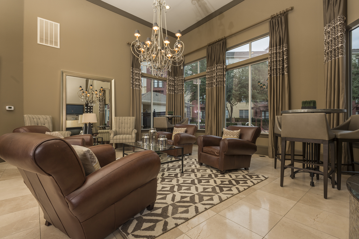 Resident Clubhouse at Marquette at Piney Point, Houston, TX, 77063