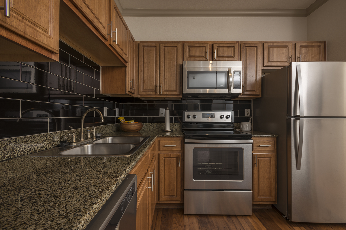Stainless Appliances at Marquette at Piney Point, Houston, TX, 77063