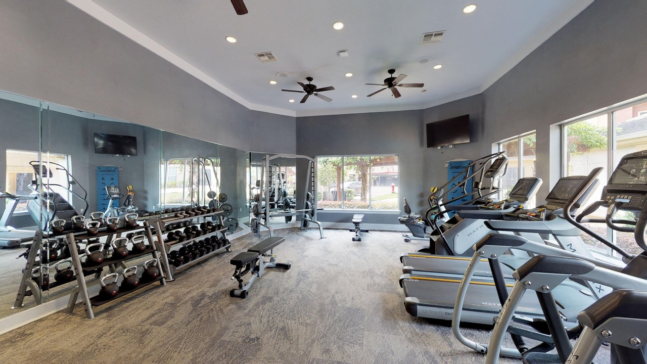 Fitness Center Access at Marquette at Piney Point, Houston, TX, 77063