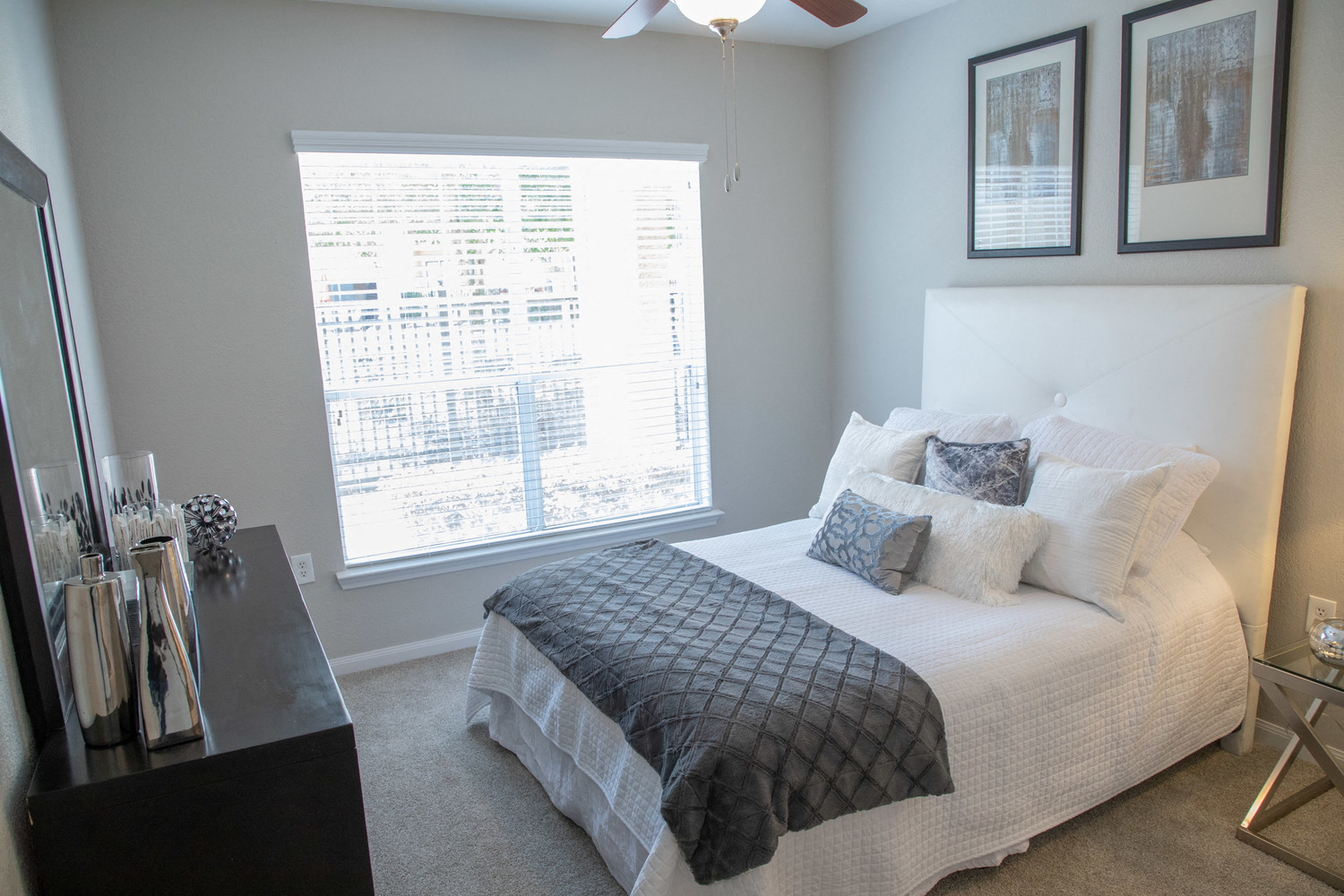 Master Bedroom at Marquette at Piney Point, Houston, Texas