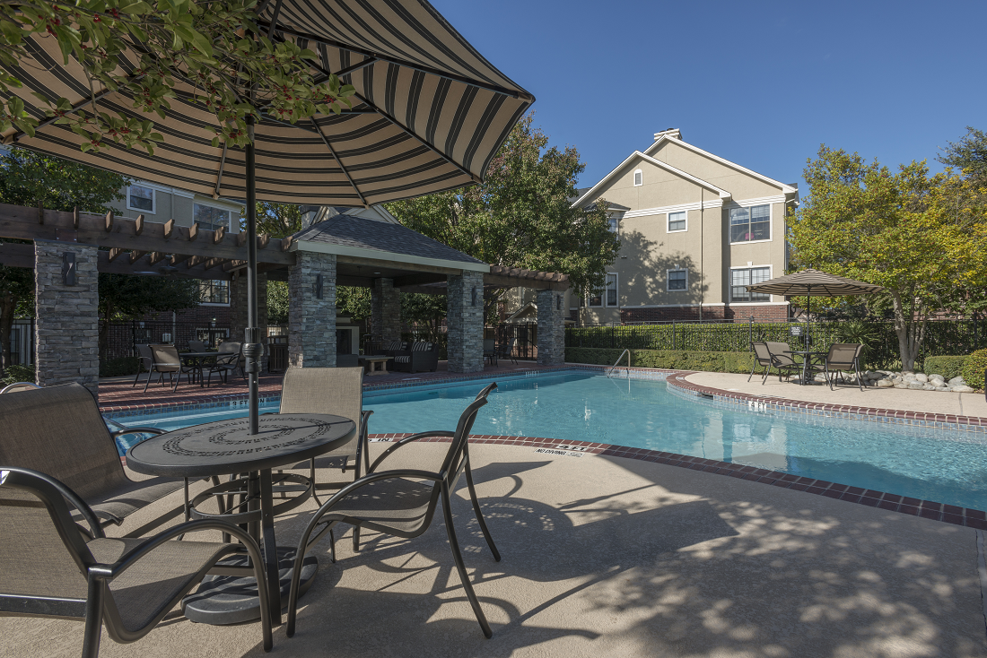 Resort Style Pool at Marquette at Preston Park, Plano, TX, 75093