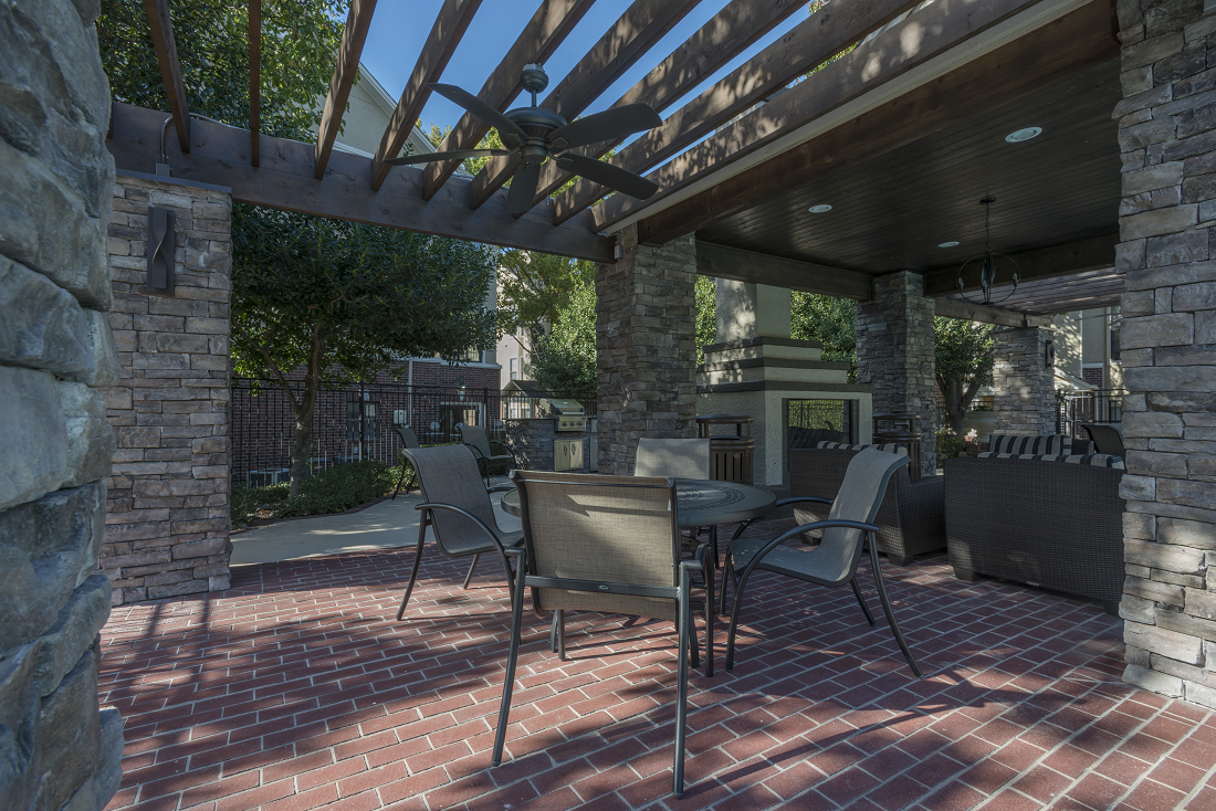 Outdoor Patios  at Marquette at Preston Park, Plano, TX, 75093
