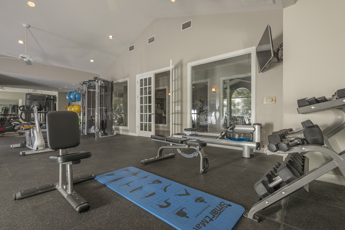 Health and Fitness Center at Marquette at Preston Park, Plano, TX, 75093