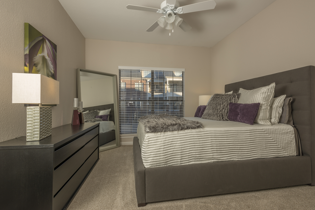 Spacious Bedrooms with Large Windows at Marquette at Preston Park, Plano, TX, 75093