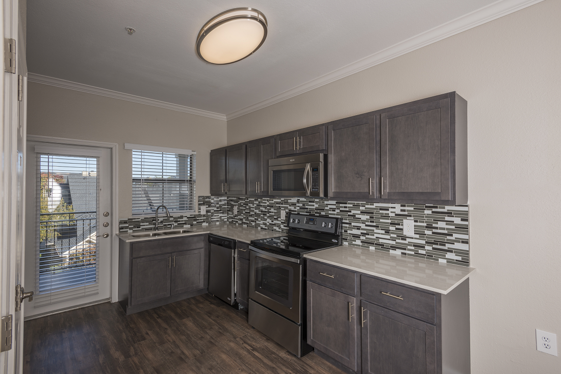 Modern Kitchens at Marquette at Preston Park- Plano, TX Apartments