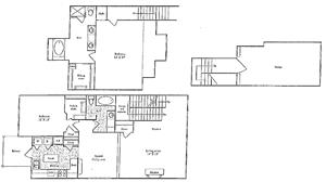 I Floorplan at Marquette at Preston Park, Plano, TX, 75093