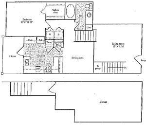 D Floorplan at Marquette at Preston Park, Plano, TX, 75093