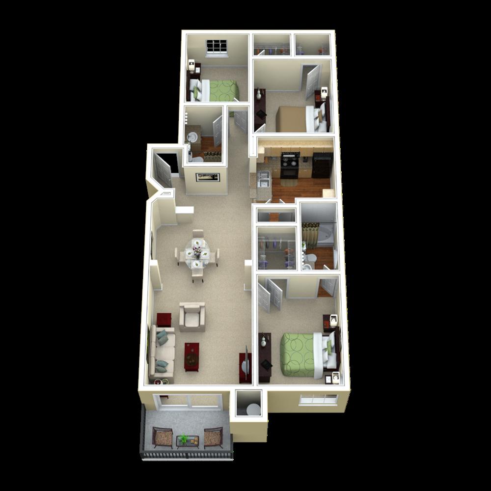 C Floor Plan 15