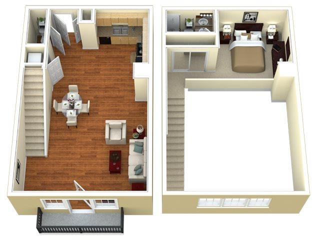 T1 Floor Plan 7