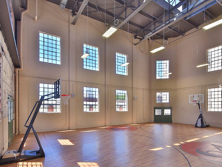Plant 64, Indoor Basketball Court