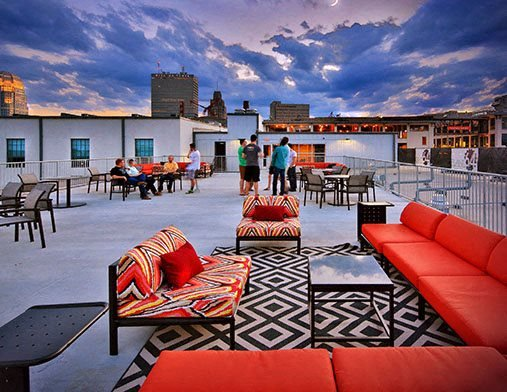 Rooftop Deck, Amenities, Plant 64