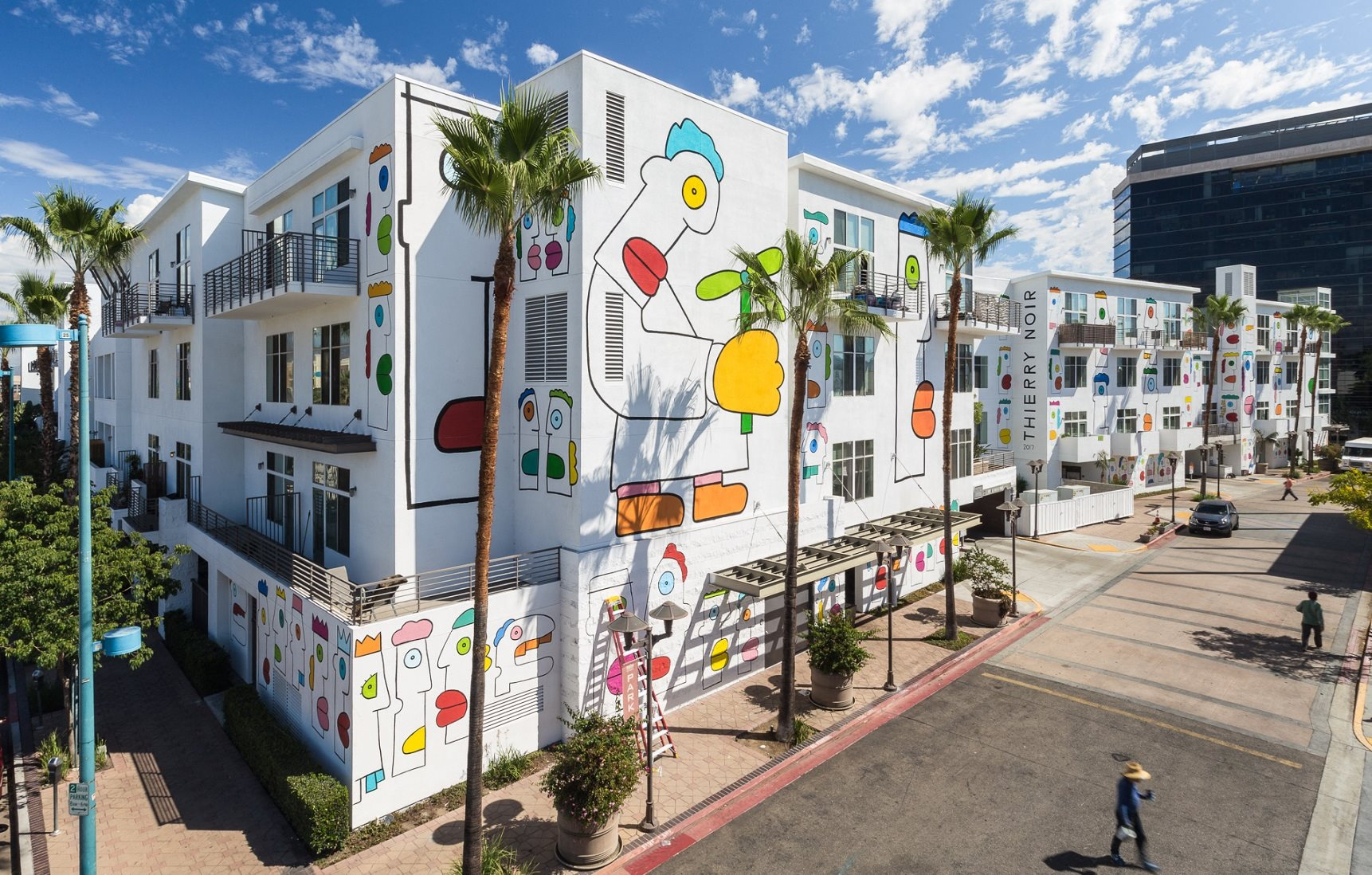 Corner view  of property at Lofts at NoHo Commons in North Hollywood, CA 91601