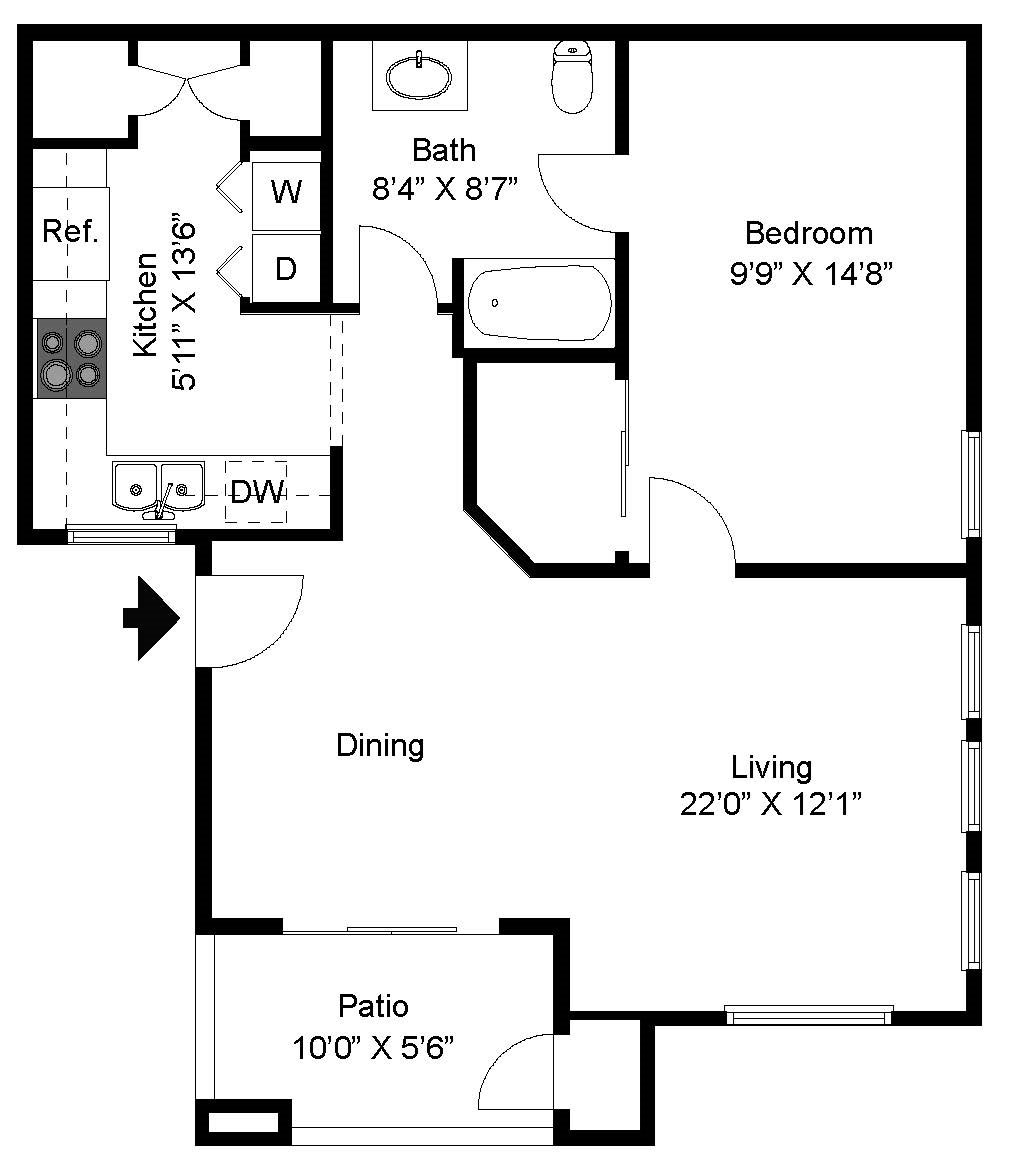 Deer Valley Floor Plan 1