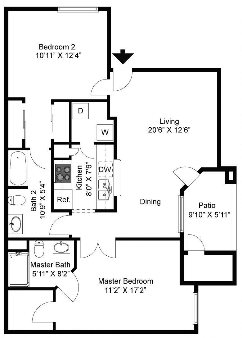 Vail Floor Plan 6