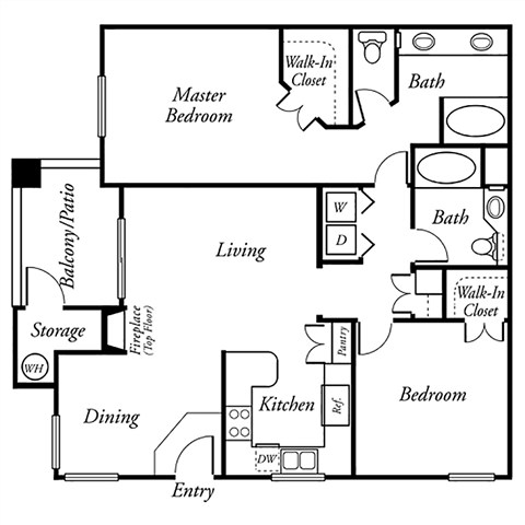 The Artisan Floor Plan 1