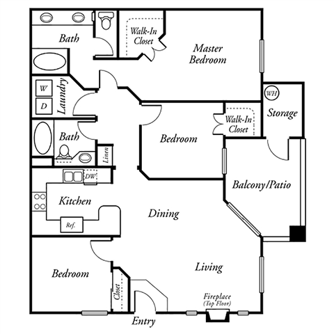 The Blacksmith Floor Plan 2