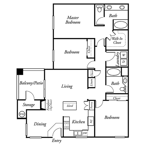 The Carpenter Floor Plan 3