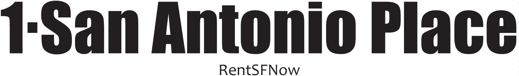 1 SAN ANTONIO Apartments Property Logo 1