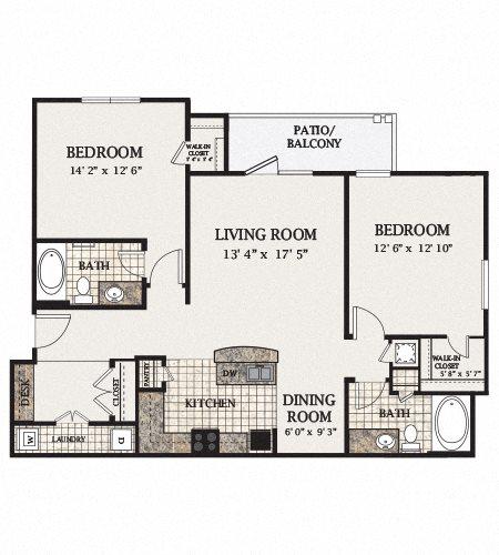 B1-A Floor Plan 5