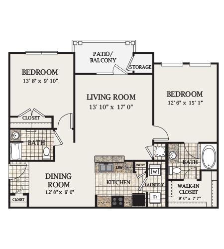 B2-M Floor Plan 7