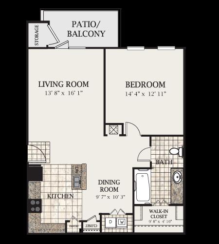A1-M Floor Plan 2