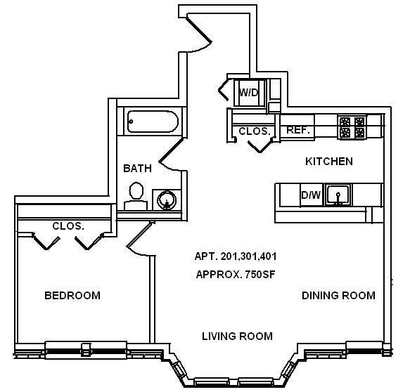 Bay Window Floor Plan 9