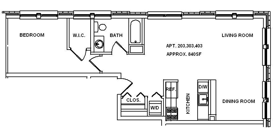 L-Line Floor Plan 1