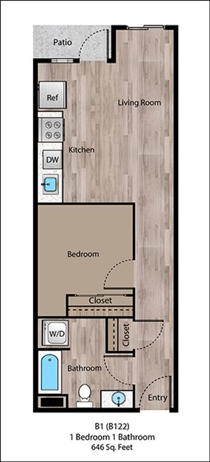 Cathedral Floorplan at Sanctuary