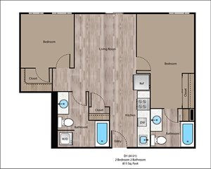 Eastmoreland Floorplan at Sanctuary