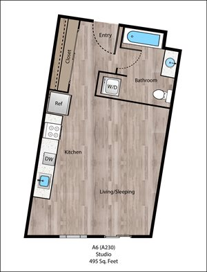 Forest Floorplan at Sanctuary