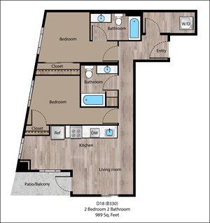 Fulton Floorplan at Sanctuary