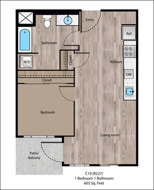 Multnomah Floorplan at Sanctuary