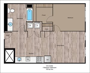 Willamette Floorplan at Sanctuary