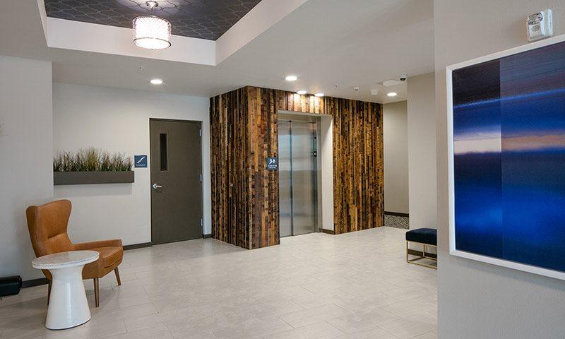 Beautiful Elevator Entrance, Sanctuary in Portland, OR 97239