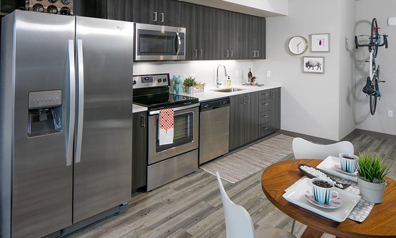 Kitchens with Quartz Countertops and Stainless Steel Appliances, Sanctuary in Portland, OR 97239