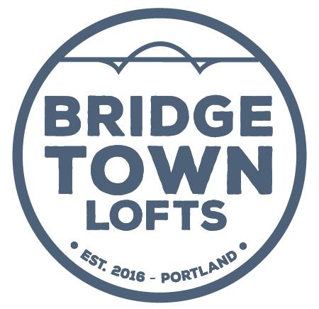 at Bridgetown Lofts Logo, Portland