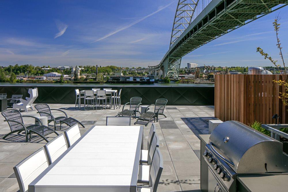 Rooftop Terrace at Bridgetown Lofts, Portland, OR 97209