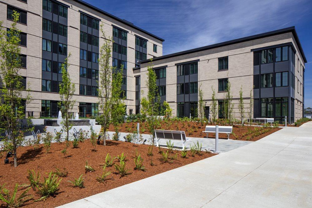Exterior View of Bridgetown Lofts, Portland, OR 97209