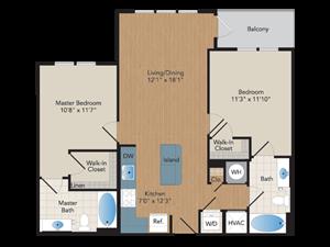 Modera Avenir Place Floor PlanModera Avenir Place Floor Plan
