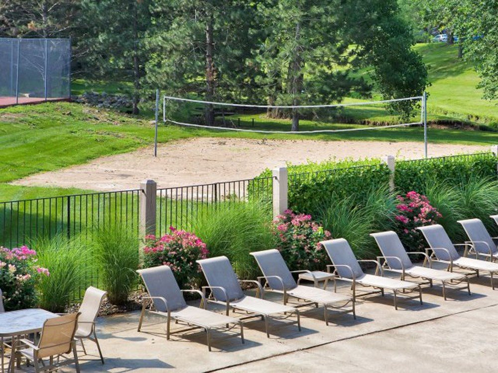 Sand Volleyball Court at The Retreat at Woodridge in Lenexa, KS and in Kansas City, MO