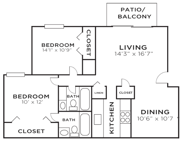 The Grande Oak Floor Plan 3