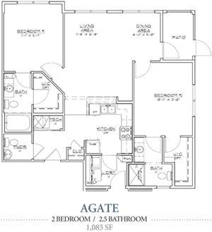 Agate (w/ garage)