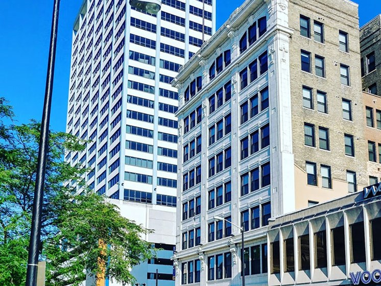 Downtown Buildings at Studebaker Lofts, South Bend, 46601