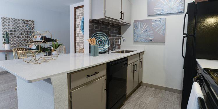 kitchen apartments in austin