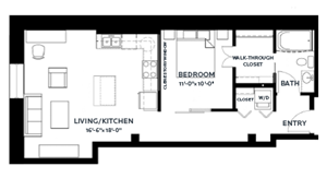 Floor plan at C&E Living, Minnesota