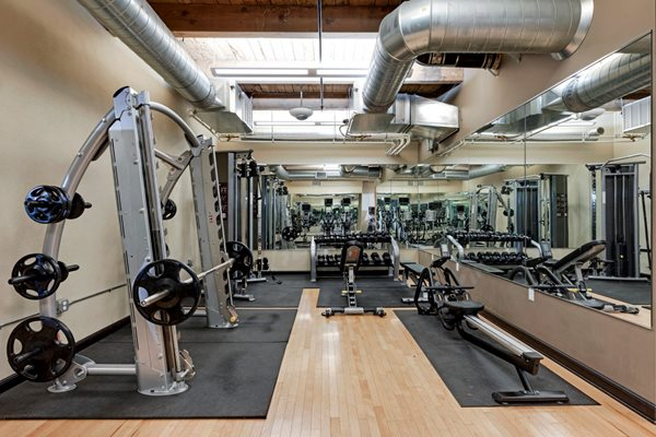 24 hour Fitness Center at C&E Living, St Paul, MN 55114