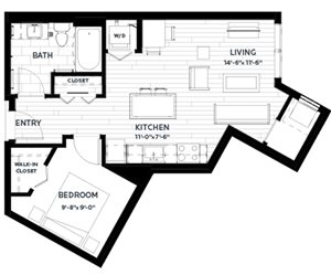 Floor plan at C&E Living, St Paul, MN 55114